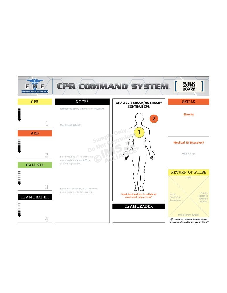 CPR Command System - public access