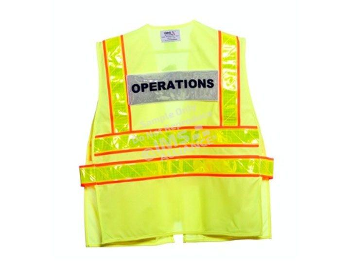 custom title panel vest