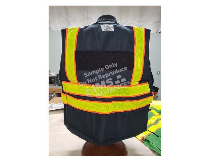 Navy Blue Vest Back