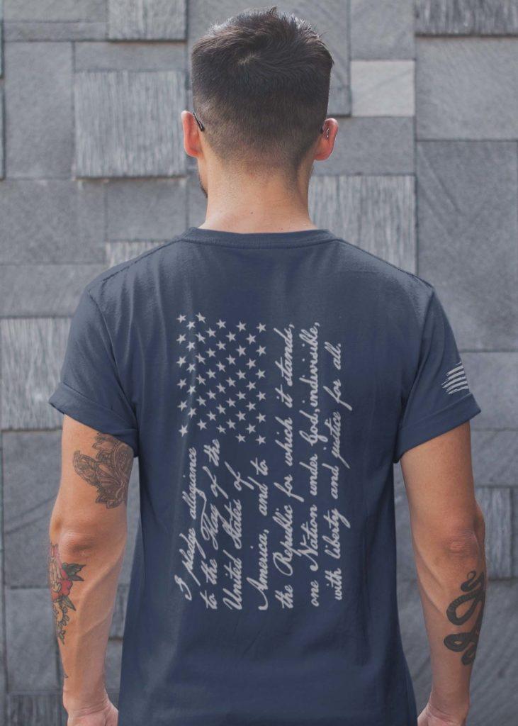 The Pledge Men's T-shirt in Navy